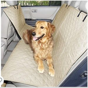 Furhaven Hammock-Style Quilted Backseat Cover